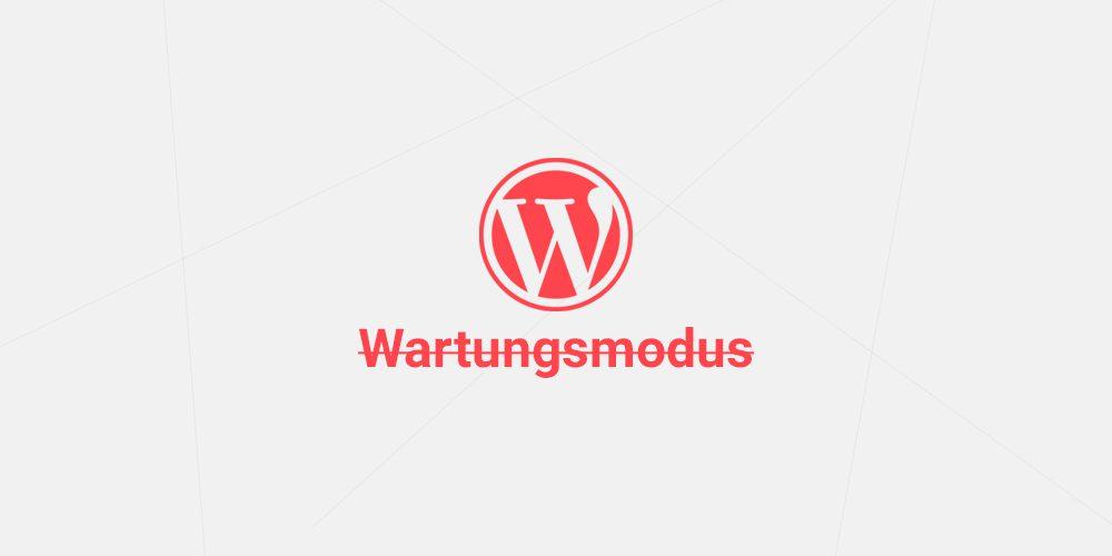 WordPress hängt im Wartungsmodus? Hier die Lösung